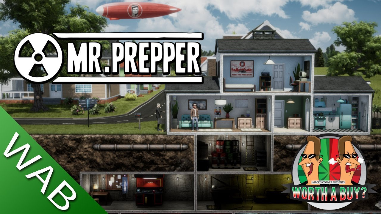 Mr Prepper Review - Be Prepared! (Video Game Video Review)