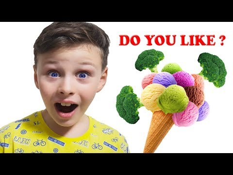 Do You Like Broccoli Ice Cream? Super Simple Songs