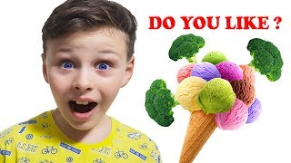 Do You Like Broccoli Ice Cream?