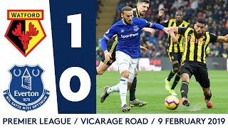 WOODWORK TWICE DENIES BLUES | HIGHLIGHTS: WATFORD 1-0 EVERTON