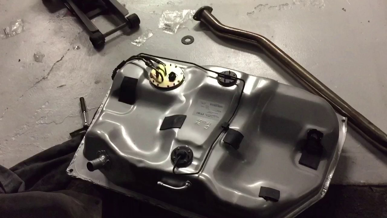 1996 toyota corolla gas tank removal and installation [ 1280 x 720 Pixel ]