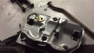 1996 Toyota Corolla Gas Tank removal and installation