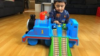thomas and friends toy train ride on with percy disney cars toy lightning mcqueen