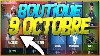 NEW COMM. OCTOBER 9th! SKIN FORTNITE OF OCTOBER 9!