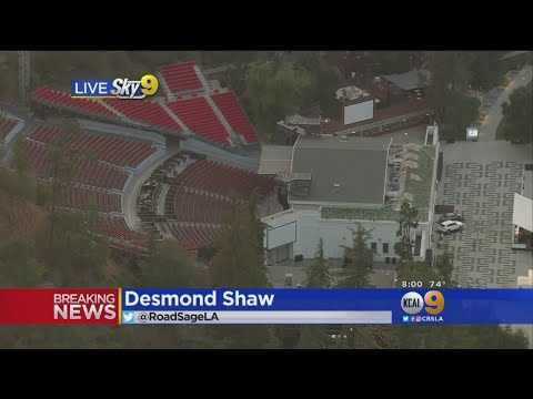 Greek Theatre Evacuated And It's Unclear Why