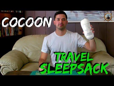 Cocoon Travel Sheet // Sleep Sack for Hostels Hotels or Backpacking