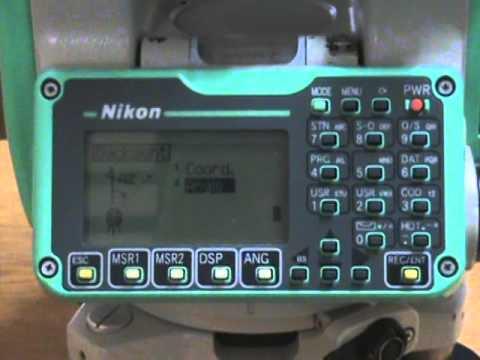 manual estacion total nikon dtm 322