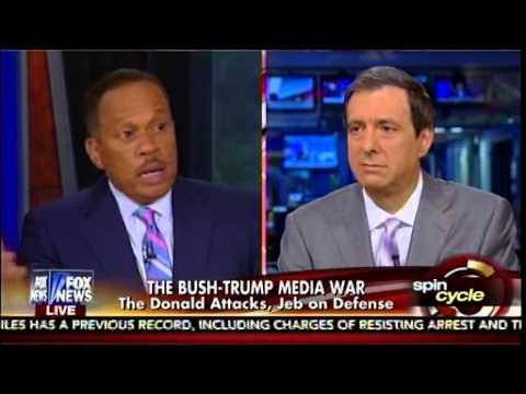 The Bush-Trump Media War - The Donald Attacks, Jeb On Defense - Media Buzz