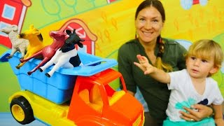 Развивающее видео для малышей.Дети и родители: учимся считать до 5 вместе!