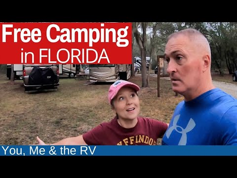 Free Public Lands In Florida (PRIVATE AND GATED) Full Time RV