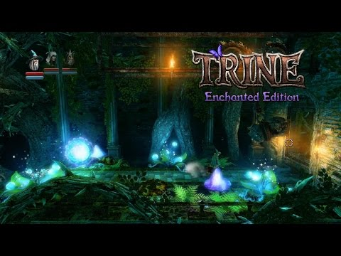 Trine Enchanted Edition Walkthrough - Academy Hallways (Level 2)