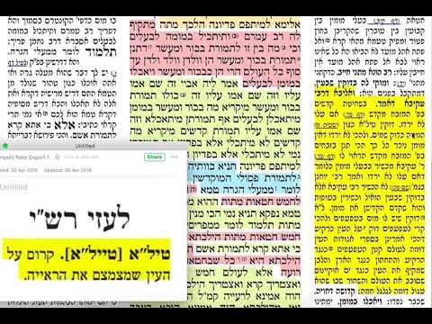 בכורות טז 16 שישי כ״ח ניסן תשע״ט מסכת בכורות דף טז Daf yomi Bechorot daf 16 שמואל נבון ירושלים