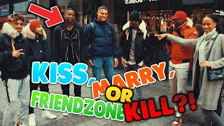 *EXTREM FUNNY*🤣 KISS, MARRY, FRIENDZONE or KILL?!! ❌💍 in KÖLN | EXCLUSIVE STREET COMEDY🍸| Edizzzy