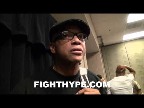 VIRGIL HUNTER DISCUSSES AMIR KHAN'S PERFORMANCE AFTER WIN OVER LUIS COLLAZO
