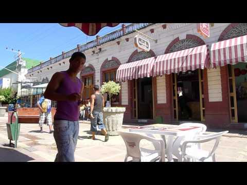 Guantanamo Cuba: El  Boulevard centro del Ciudad