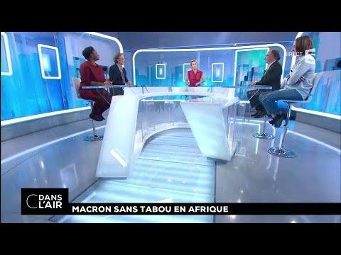 Macron sans tabou en Afrique #cdanslair 28.11.2017