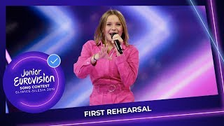 France 🇫🇷 - Carla - Bim Bam Toi - First Rehearsal - Junior Eurovision 2019 Video