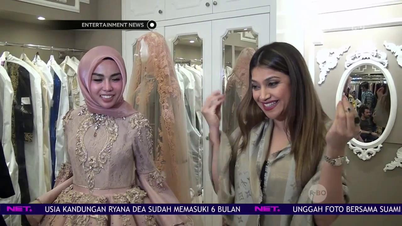 Sarah Azhari Jalani Fitting Baju Untuk Persiapan