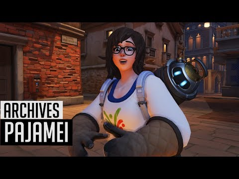 Overwatch Archives 2018 | Mei Pajamei Skin In-Game + Highlight Intros | Uprising/Retribution