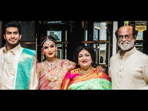 FULL HD VIDEO: Soundarya Rajinikanth - Vishagan Marriage | Rajini | Kamal Hassan | Dhanush | Anirudh