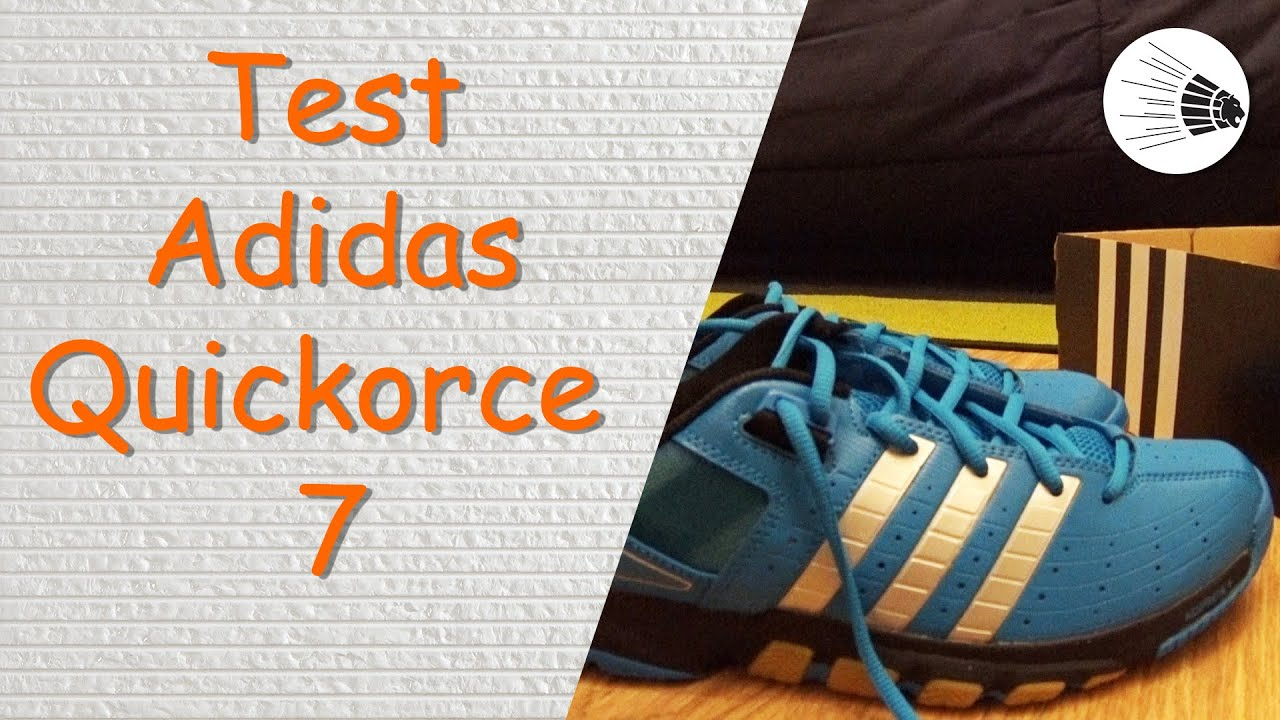 Test adidas quickforce 7 su youtube