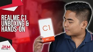 Realme C1 Unboxing and Hands-on: OPPO A3s