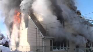 west paterson nj fire department house fire 106 jackson ave woodland park nj feb 17 2014 part 1