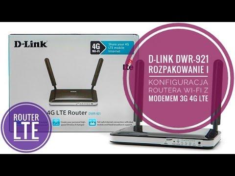 D-Link DWR-921 Konfiguracja Połączenia internetowego - krok po kroku 4G LTE - T-Mobile