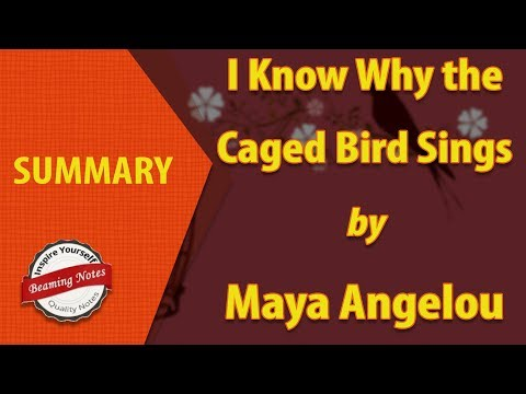I Know Why the Caged Bird Sings Summary by Maya Angelou
