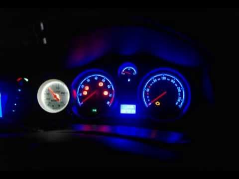 How to install smd blue led dash conversion opel astra h for Astra h tablet install