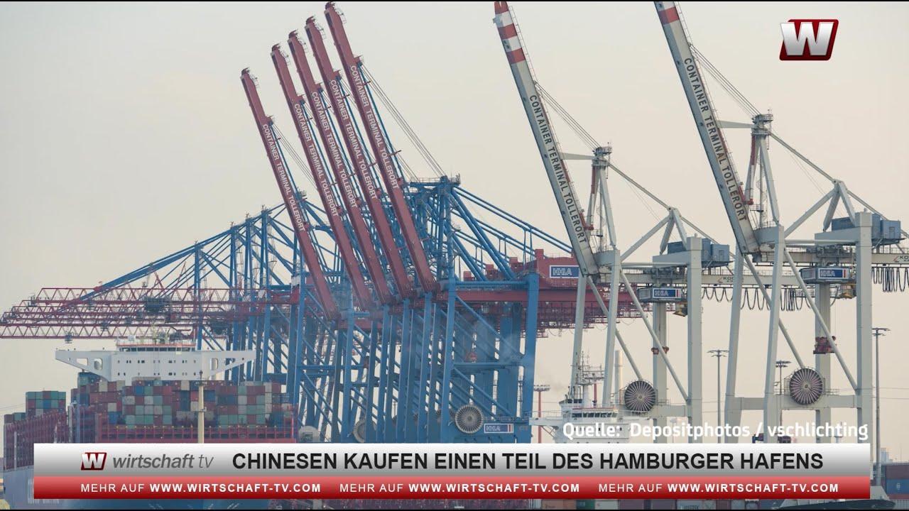 China kauft Teil des Hamburger Hafens