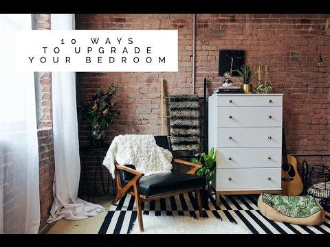 10 Easy Ways To Upgrade Your Bedroom - Bedroom Makeover | Aja Dang