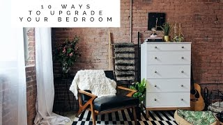 10 Easy Ways To Upgrade Your Bedroom - Bedroom Makeover | Aja Dang