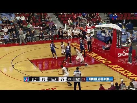 Joel Bolomboy posts 25 points & 12 rebounds vs. the Energy