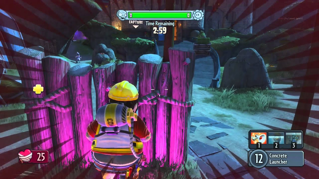 Plants Vs Zombies Garden Warfare Classic Gardens And Graveyards Gameplay Pc
