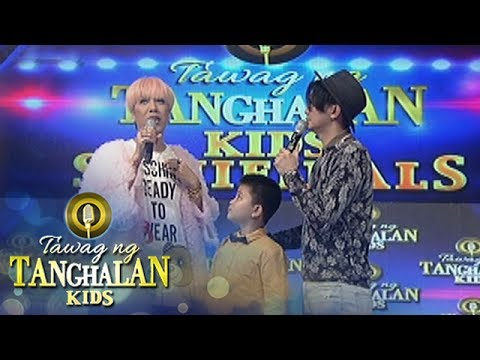 Tawag ng Tanghalan Kids: Vice Ganda's source of strength