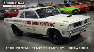 Muscle Car Of The Week Video #82: Stan Antlocer And The World's Fastest Pontiac Tempest