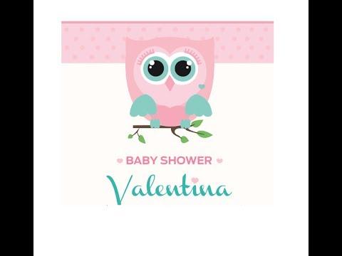 baby shower valentina youtube