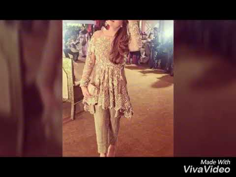 latest stylish party wear  dresses 2017&2018 best collection  of party wear  dreses