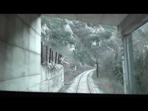 Greek Railways Macedonia Drama - Xanthi part2 HD (Cab Ride)