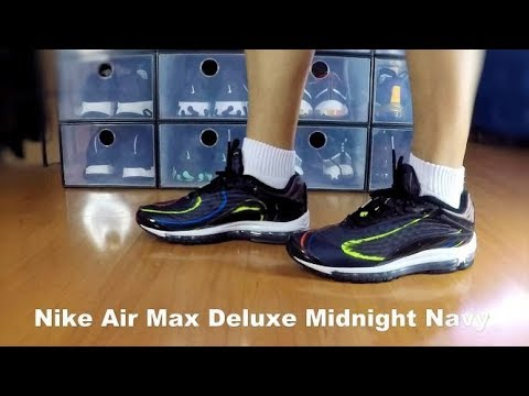 wholesale dealer 20e91 0feef Nike Air Max Deluxe Midnight Navy - On Feet