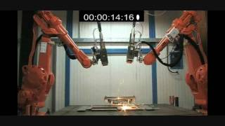 IPG & ABB Remote Laser Welding
