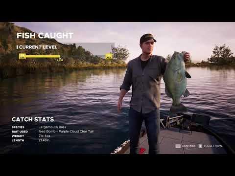 Fishing Sim World Pro Tour Lake Williams Tier 1 Part 2