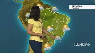 Previsão Brasil – Instabilidade aumenta no SE e CO