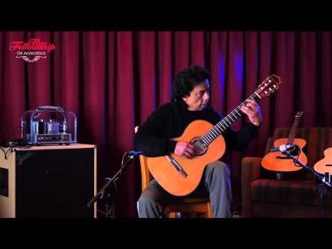 Armin Hanika 1a RC Classical Concert Guitar at The Fellowship of Acoustics