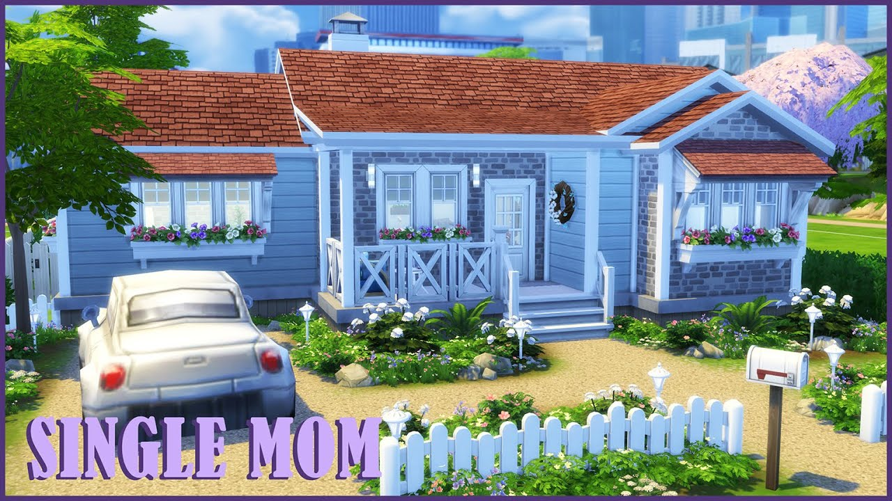 Single Mom House || The  Sims 4 Stop Motion || ts4