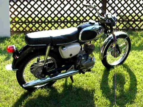 1968 suzuki b100p magnum - youtube