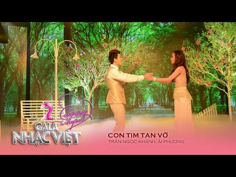 Con Tim Tan Vỡ - Trần Ngọc Khanh, Ái Phương (Gala Nhạc Việt 2 - Con Đường Tình Yêu)