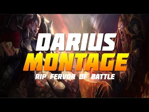 Darius Montage - Tribute To Ferver Of Battle