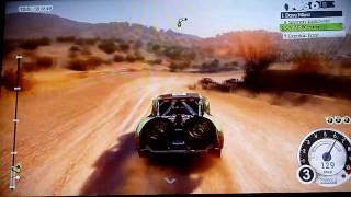 DIRT 2 PS3 gameplay-Raid-Baja-Peninsula Run